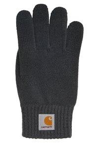 Carhartt WIP - WATCH GLOVES UNISEX - Gloves - blacksmith - 1