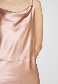 Samsøe Samsøe - APPLES DRESS - Společenské šaty - misty rose - 8