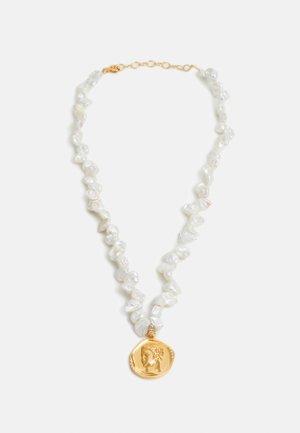 HERMIS LARGE PEARLS NECKLACE - Kaulakoru - gold-coloured