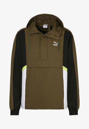 Sports jacket - dark olive