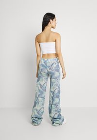 Jaded London - RUCHED JOGGER MARBLE - Joggebukse - blue mix - 2