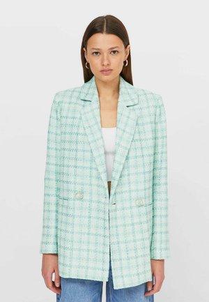 Krótki płaszcz - mint