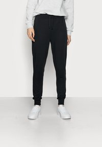 Even&Odd Tall - LOUNGEWEAR JOGGERS - Tracksuit bottoms - black - 0