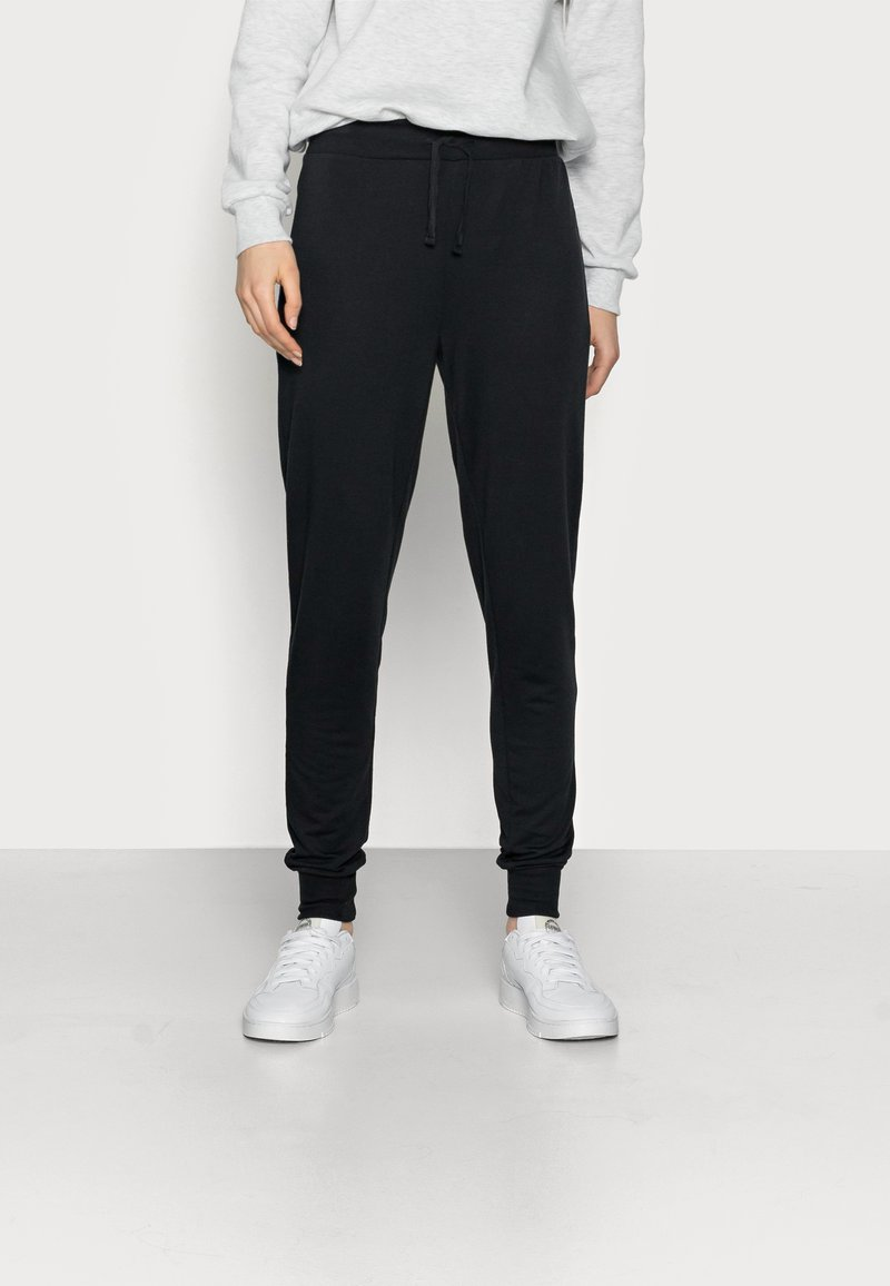 Even&Odd Tall - LOUNGEWEAR JOGGERS - Tracksuit bottoms - black