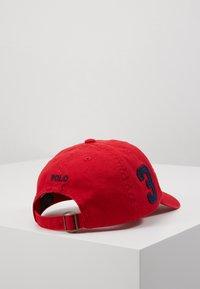 Polo Ralph Lauren - BIG APPAREL ACCESSORIES HAT UNISEX - Gorra - red - 3