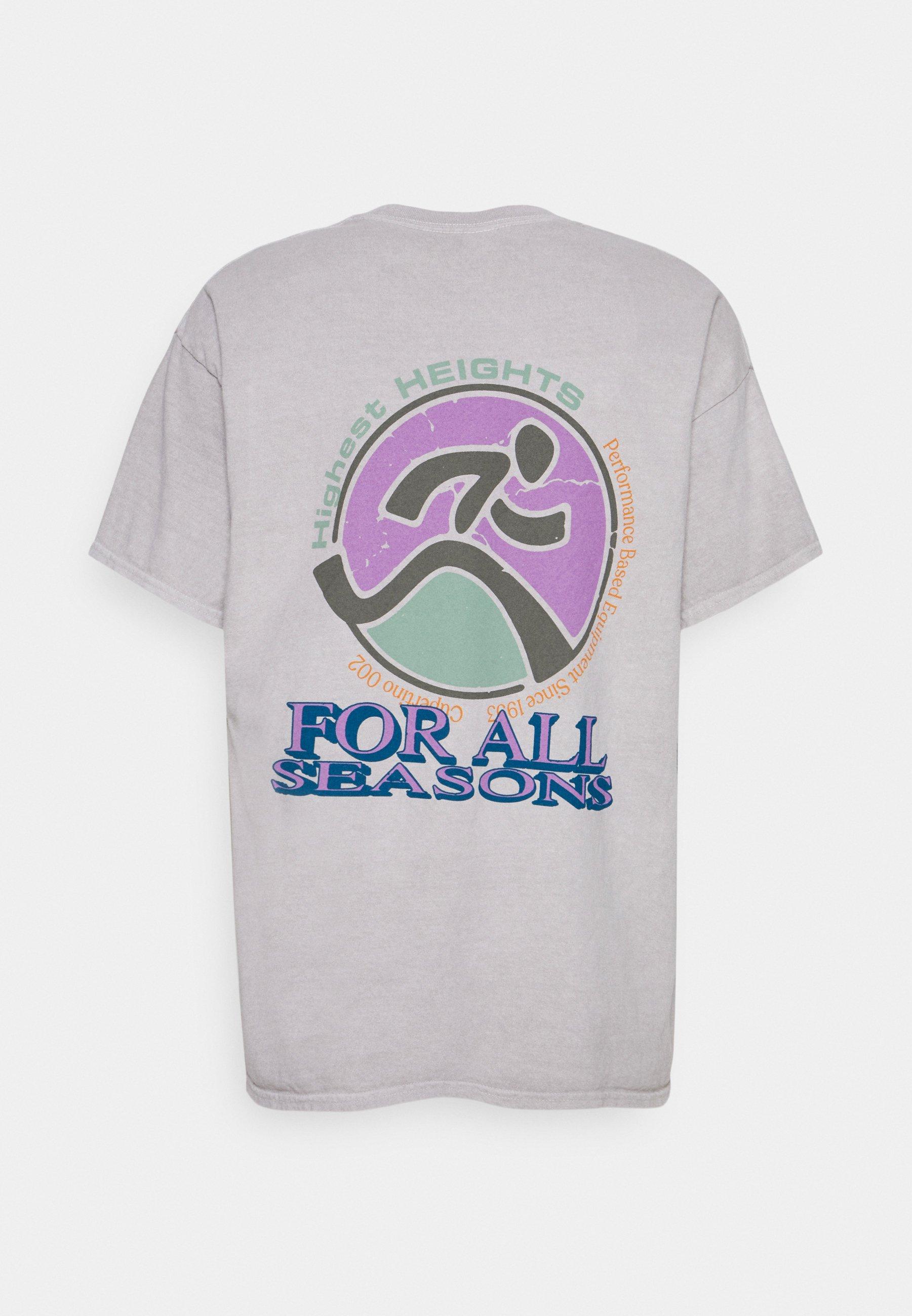 Men HIGHEST HEIGHTS TEE UNISEX - Print T-shirt