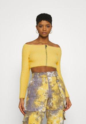 GLOWER - Sweter - yellow