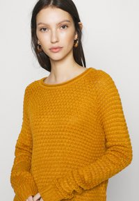 Vero Moda - VMESME SURF O NECK - Strickpullover - buckthorn brown - 4