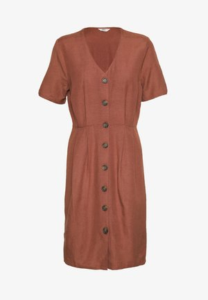 ONLVIVA LIFE - Shirt dress - apple butter