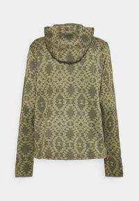 Columbia - WEATHER™ HOODED - Felpa in pile - stone green blanket - 1