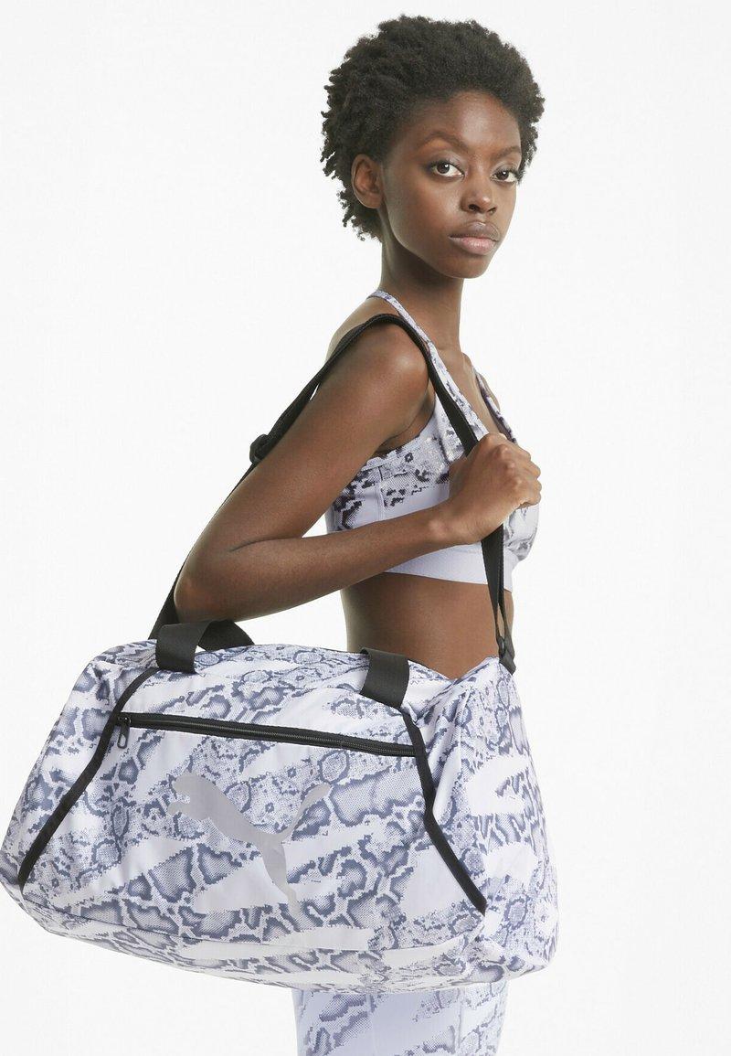 Puma - BARREL BAG - Sports bag - puma white-untamed