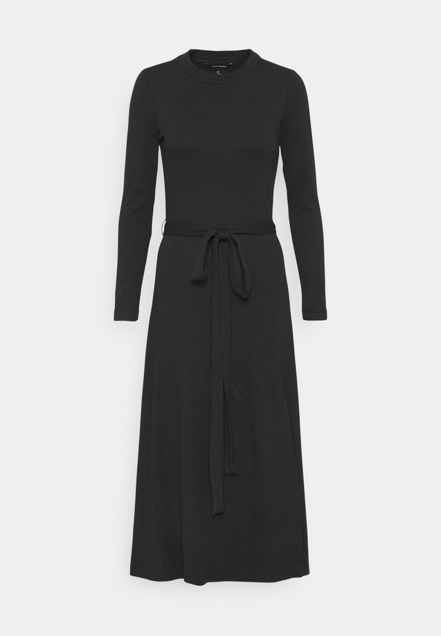 LONGSLEEVE DRESS - Jumper dress - black