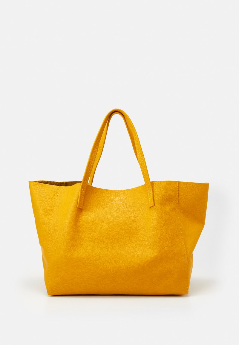 Kurt Geiger London - VIOLET HORIZONTAL TOTE - Tote bag - mustard