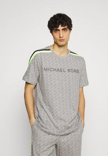 PEACHED CREW - Camiseta de pijama - heather grey