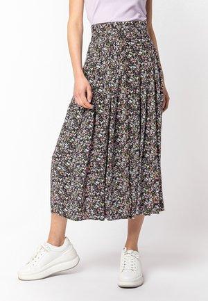 A-line skirt - purple