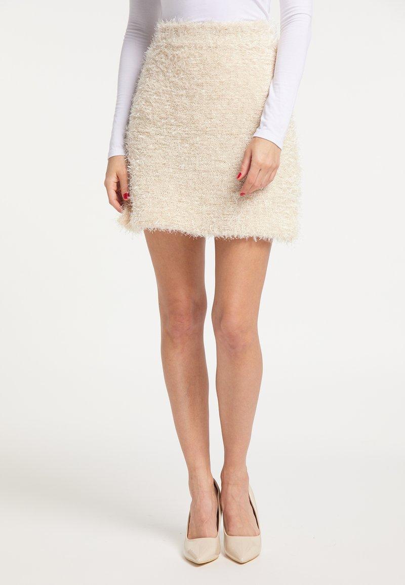 faina - A-line skirt - champagner