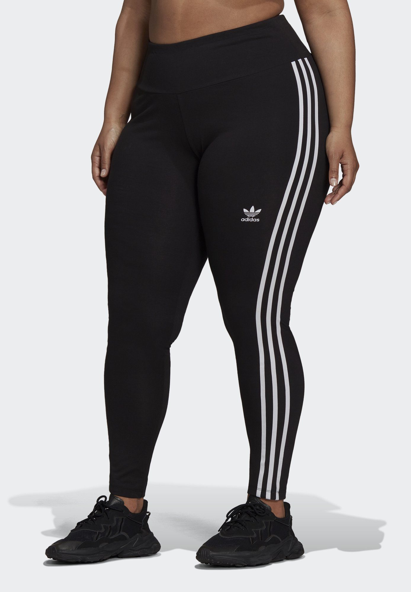 Women 3 STRIPES ADICOLOR COMPRESSION - Leggings - Trousers