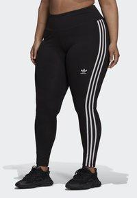 adidas Originals - 3 STRIPES ADICOLOR COMPRESSION - Legging - black - 0