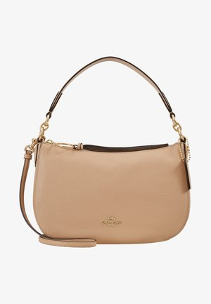 PEBBLE SUTTON CROSSBODY - Handtasche - beechwood