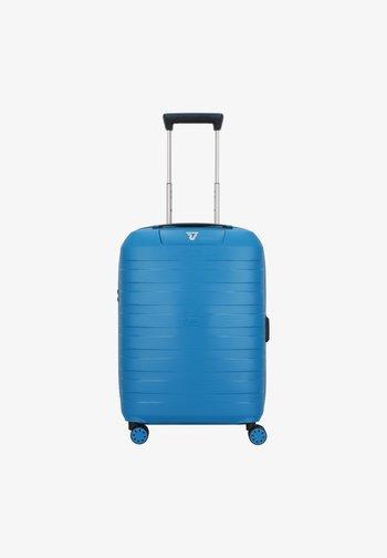 Wheeled suitcase - denim