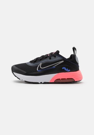 AIR MAX 2090 UNISEX - Baskets basses - black/metallic silver/sunset pulse/sapphire