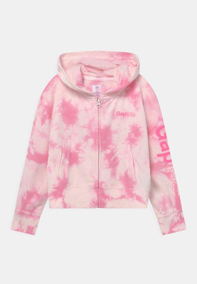 GIRLS LOGO - Zip-up hoodie - pink