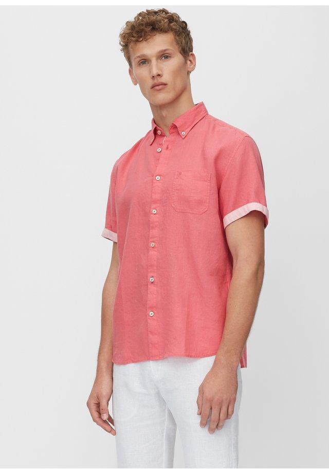 MARC O'POLO KURZARM-HEMD REGULAR AUS REINEM LEINEN - Shirt - baroque rose