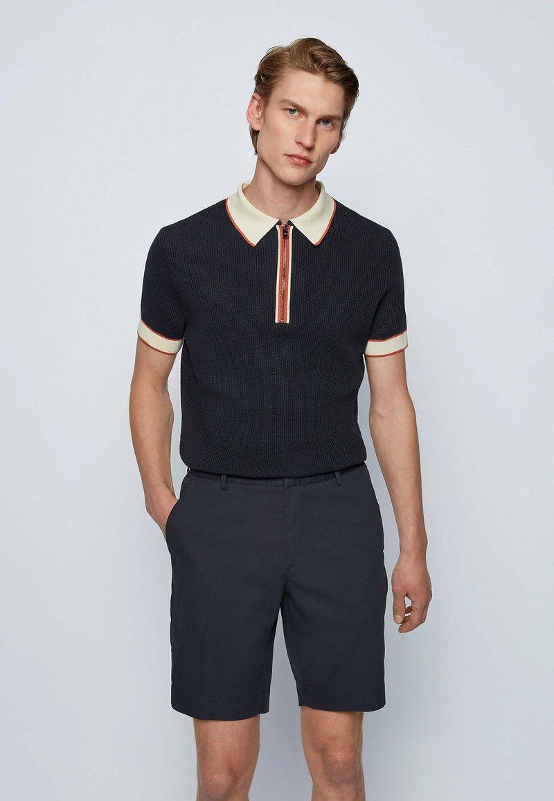 BOSS - HOLOMBO - Polo shirt - dark blue