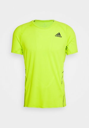 ADI RUNNER TEE - Camiseta estampada - green