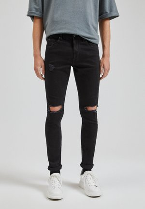 JEANS SUPPERSKINNY FIT - Skinny džíny - black