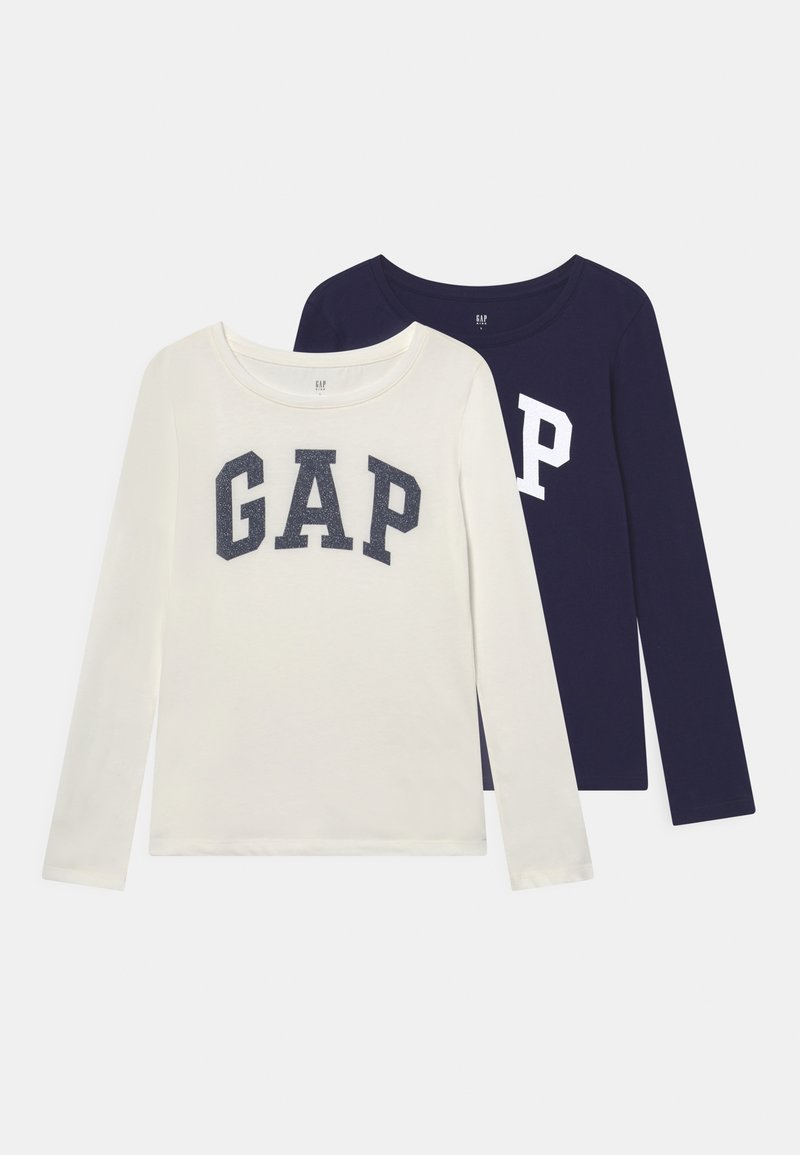 GAP - GIRLS LOGO 2 PACK - Longsleeve - navy uniform
