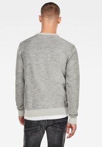 G-Star - PREMIUM CORE LOGO ROUND LONG SLEEVE - Trui - cool grey - 1