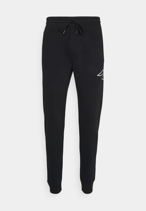 ICONIC PRINT - Tracksuit bottoms - black gull