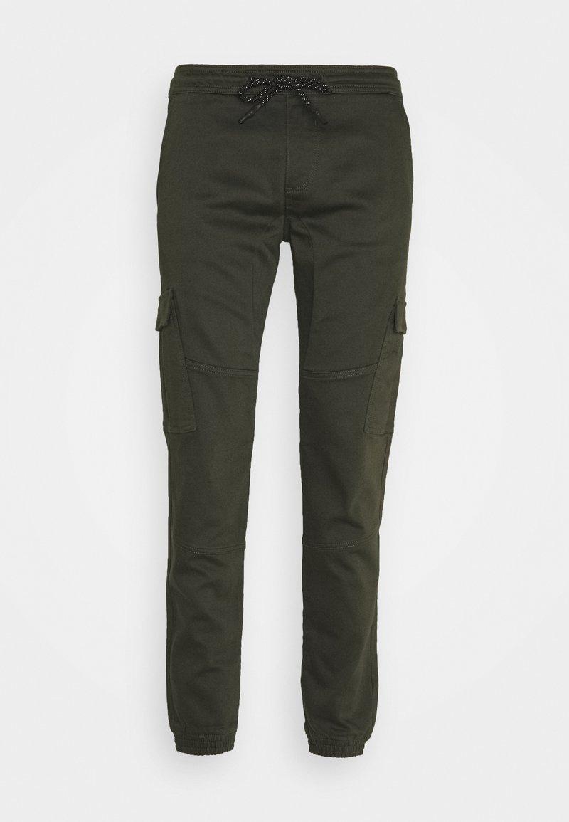 TOM TAILOR DENIM - SLIM WASHED - Slim fit jeans - woodland green
