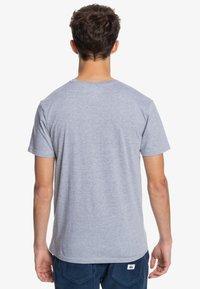 Quiksilver - COMP LOGO  - Print T-shirt - athletic heather - 2