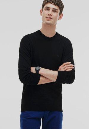 Strickpullover - noir