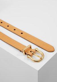 Polo Ralph Lauren - SMOOTH VACHETTA STIRRUP - Cintura - natural - 2