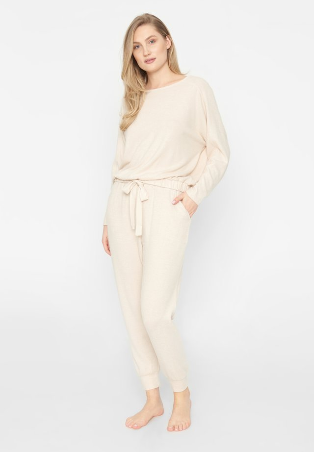 Pyjama - beige melange