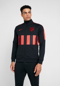 Nike Performance - ATLETICO MADRID - Träningsjacka - black/white/challenge red - 0