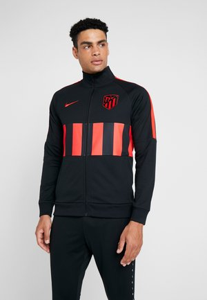 ATLETICO MADRID - Training jacket - black/white/challenge red