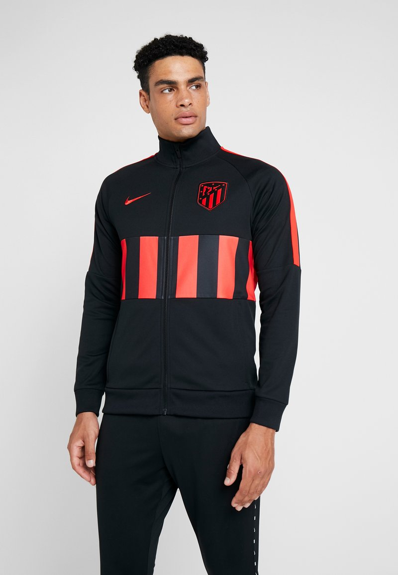 Nike Performance - ATLETICO MADRID - Träningsjacka - black/white/challenge red
