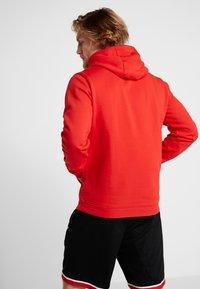 Nike Performance - NBA CHICAGO BULLS LOGO HOODIE - Artykuły klubowe - university red - 2