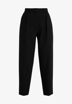 CINDY DAGNY PANT - Pantalon classique - black