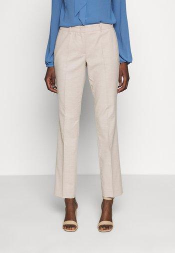 Trousers - brown pann