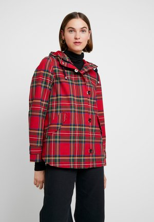 COAST PRINT - Lett jakke - red