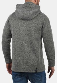INDICODE JEANS - CHILLINGWORTH - Zip-up hoodie - mottled dark grey - 1
