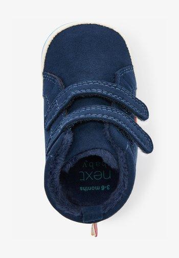 First shoes - dark blue