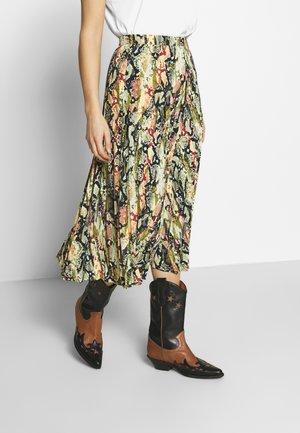 PLISSEE SKIRT - A-line skirt - multi-coloured