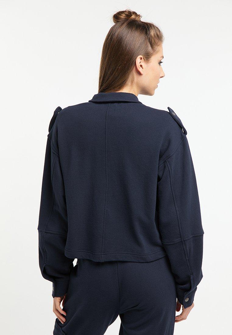 myMo Leichte Jacke marine/dunkelblau