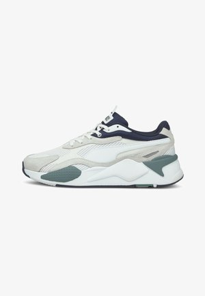 TWILL AIRMESH - Baskets basses - puma white puma white
